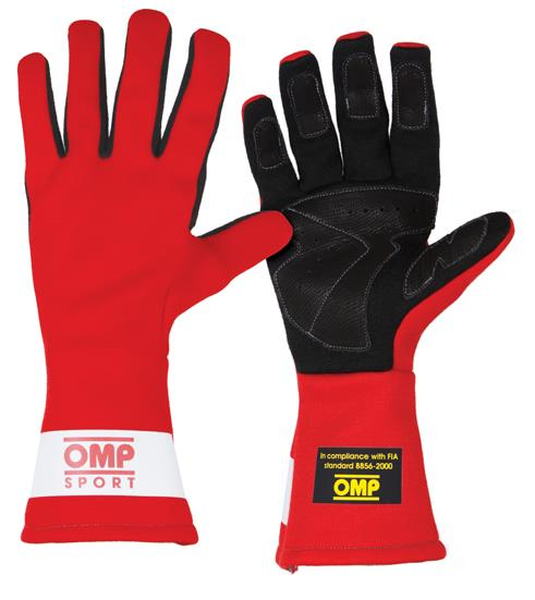 Omp Sport Gloves: RACE SUIT RENTAL